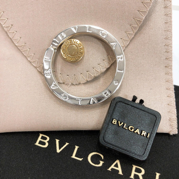 BVLGARI key ring Key ring Sterling Silver Silver Used