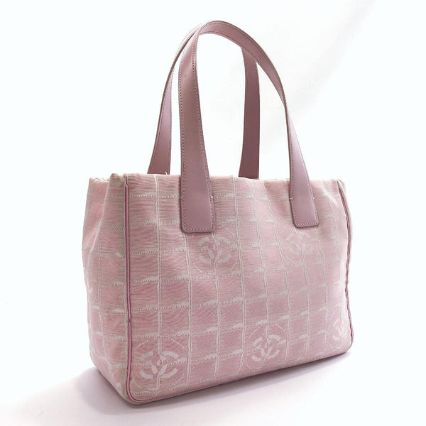 CHANEL Tote Bag New travel line Nylon pink Women Used - JP-BRANDS.com