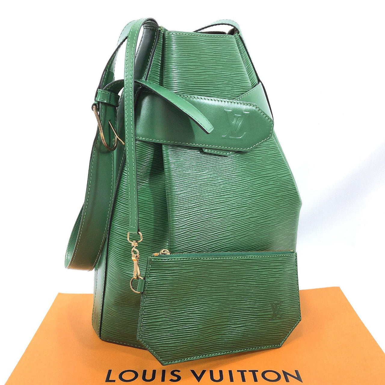 LOUIS VUITTON Shoulder Bag M80207 Sac de Paul PM Epi Leather green Women Used - JP-BRANDS.com