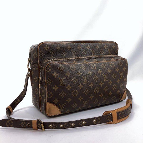 LOUIS VUITTON Shoulder Bag M45242 Nile GM vintage Monogram canvas Brown mens Used