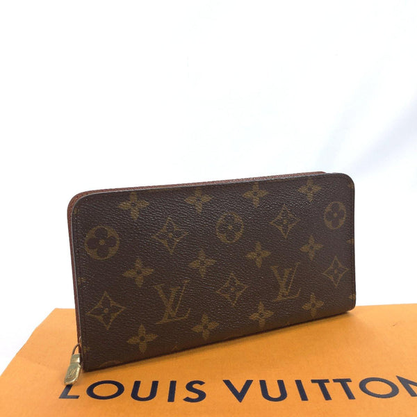 LOUIS VUITTON purse M61727 Porto Monezup vintage Monogram canvas Brown mens Used