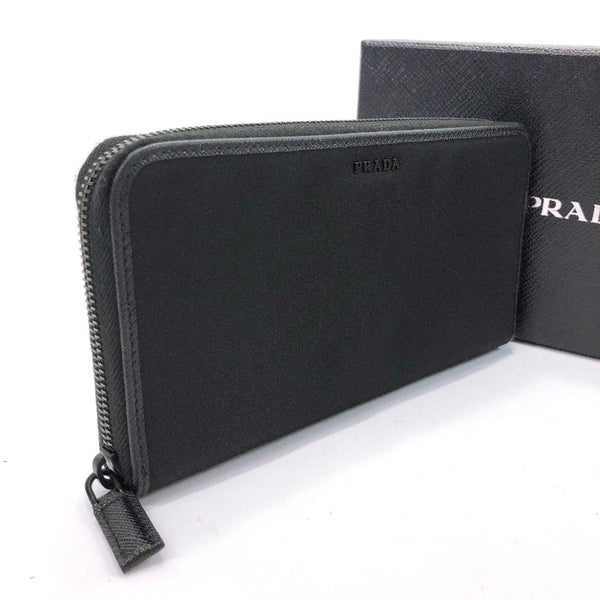 PRADA purse TESSUTO Nylon/leather black mens Used