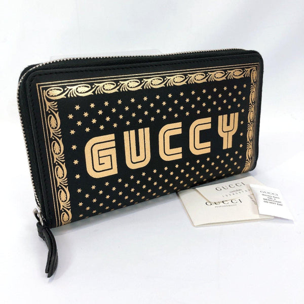 GUCCI purse 510488 GUCCY Sega collaboration leather black Women New