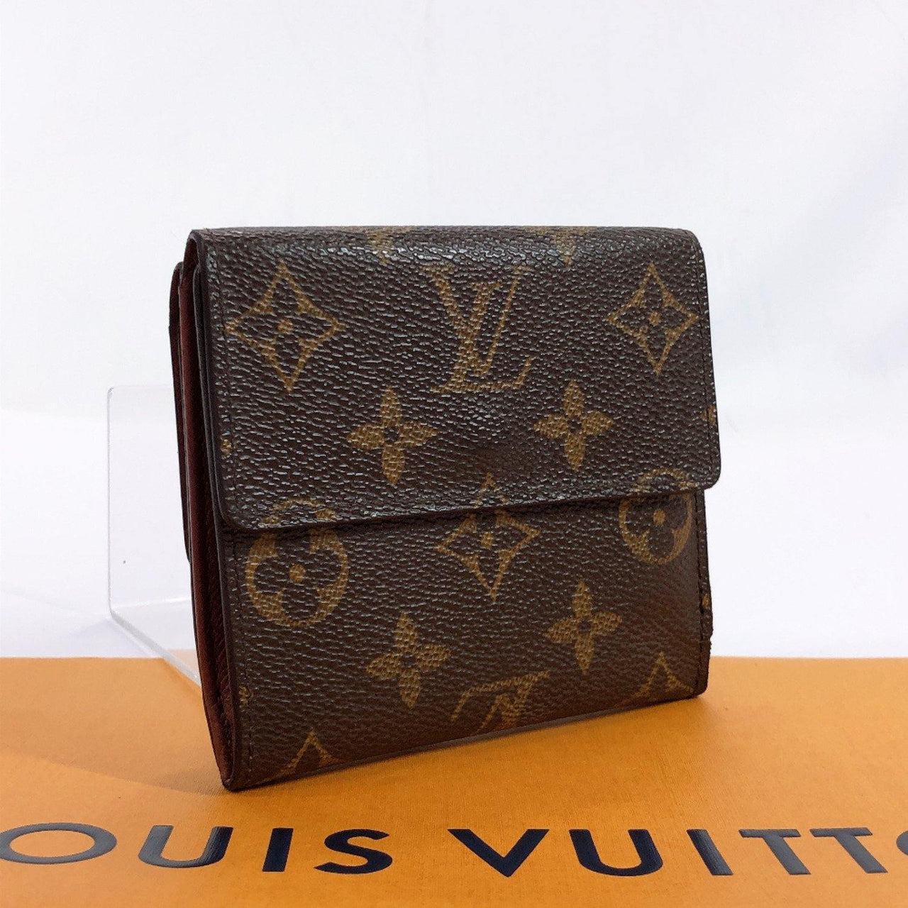 LOUIS VUITTON wallet M61652 Porto Monet Biecult Credit Monogram canvas Brown unisex Used - JP-BRANDS.com