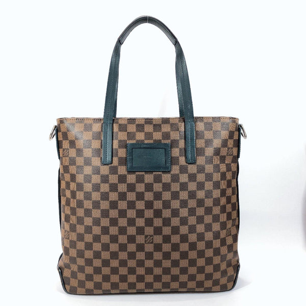 LOUIS VUITTON Tote Bag N41255 Herald Damier canvas Brown mens Used