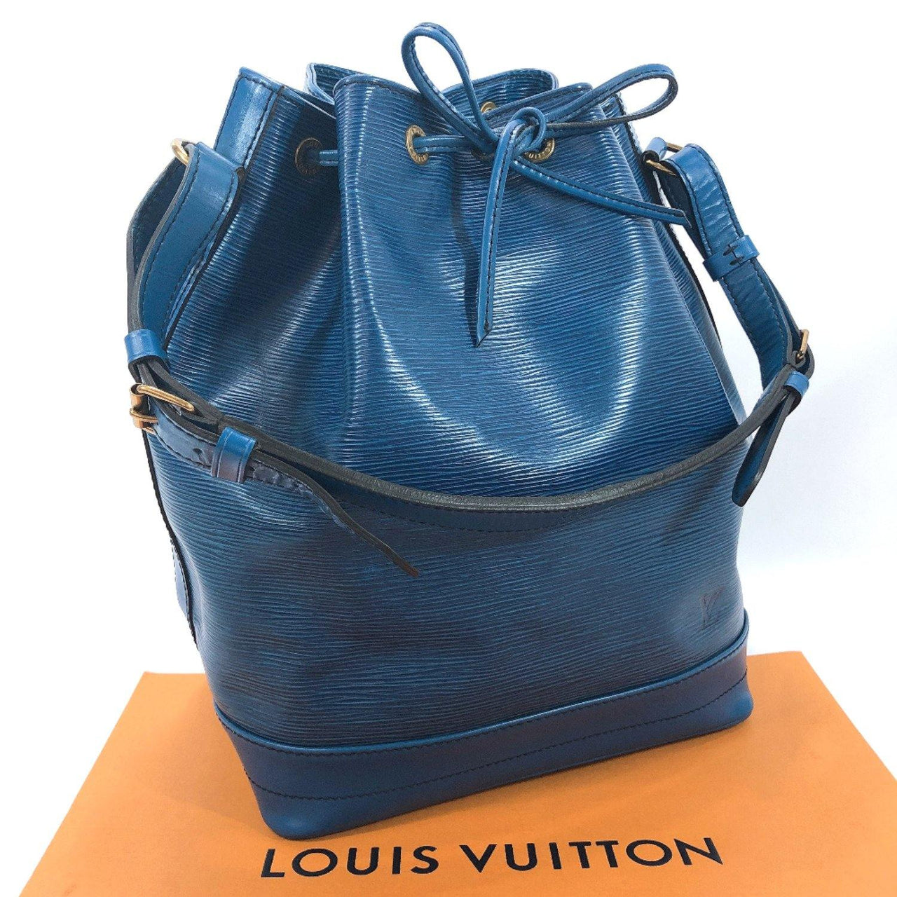 LOUIS VUITTON Shoulder Bag M44005 Noe vintage Epi Leather blue Women Used - JP-BRANDS.com