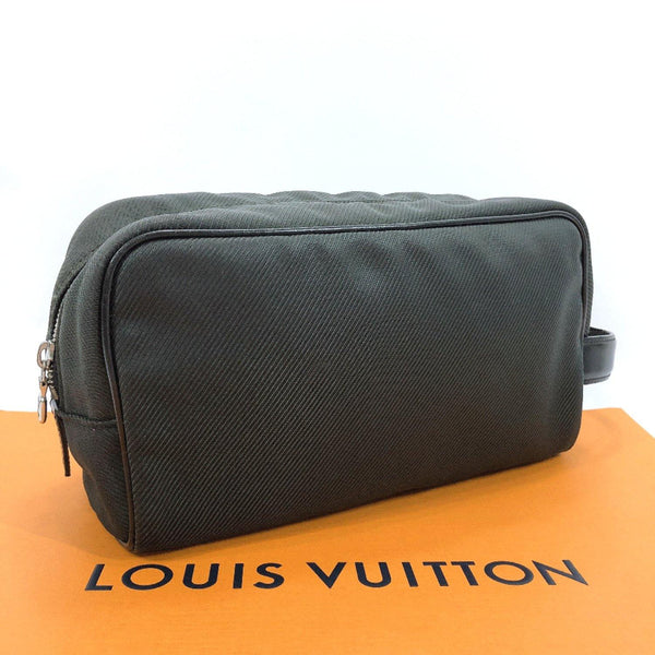 LOUIS VUITTON business bag M30754  Parana Taiga/leather green black mens Used