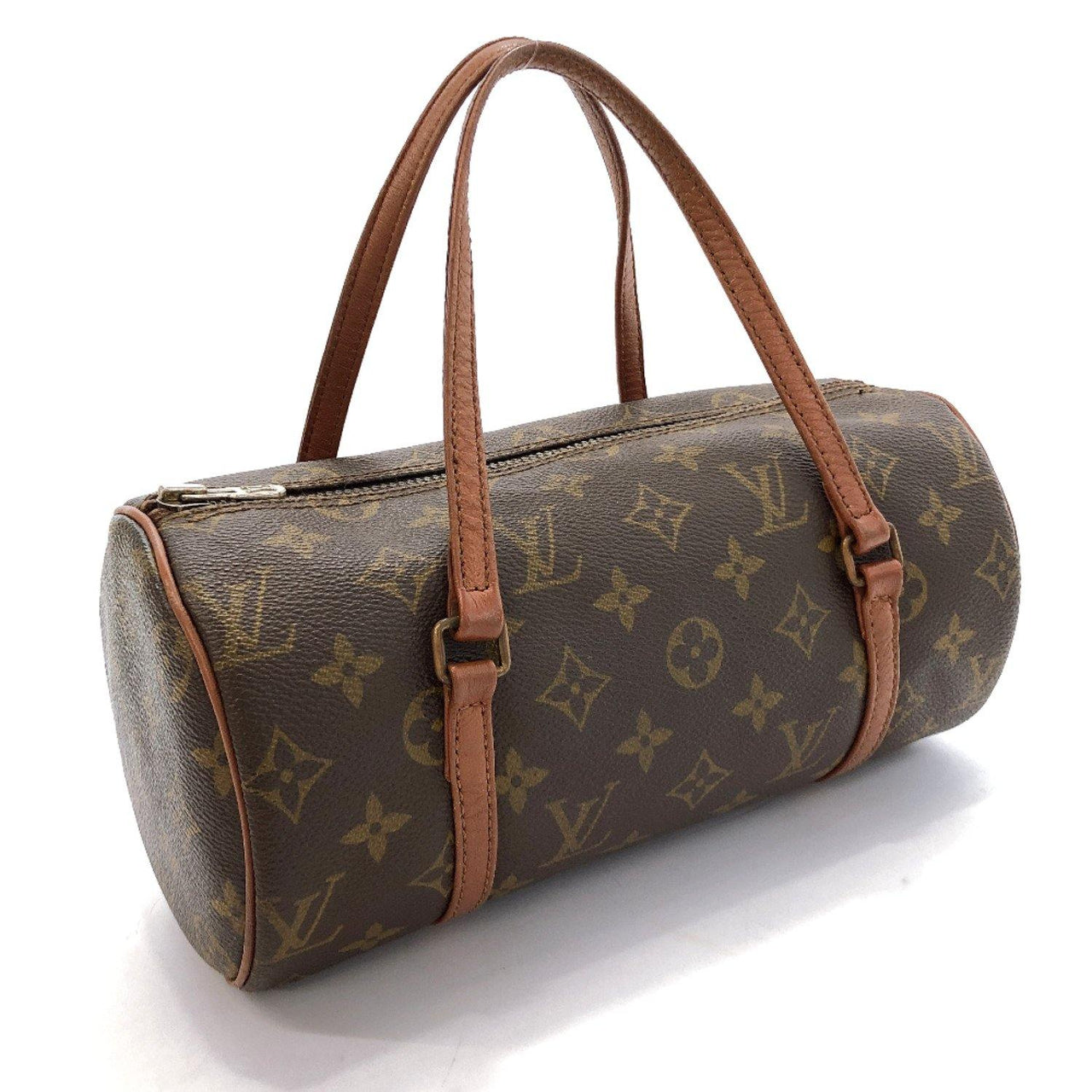 LOUIS VUITTON Handbag M51366 Papillon 26 vintage Monogram canvas Brown Women Used - JP-BRANDS.com
