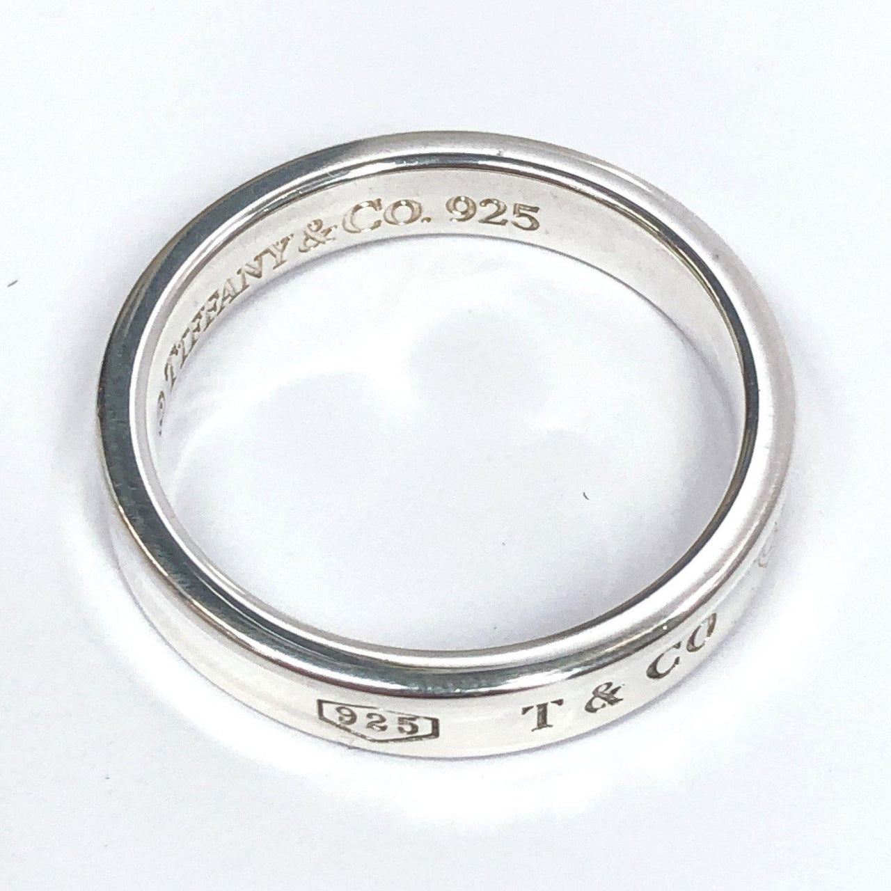TIFFANY&Co. Ring 1837 Silver925 16 Silver mens Used - JP-BRANDS.com