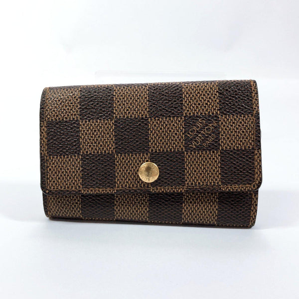 LOUIS VUITTON key holder N62630 Multicles 6 Damier canvas Brown unisex Used