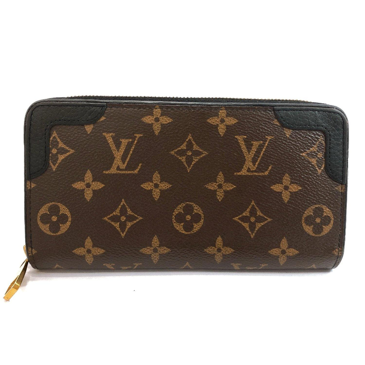 LOUIS VUITTON purse M61855 Zippy Wallet Retiro Monogram canvas Brown unisex Used - JP-BRANDS.com