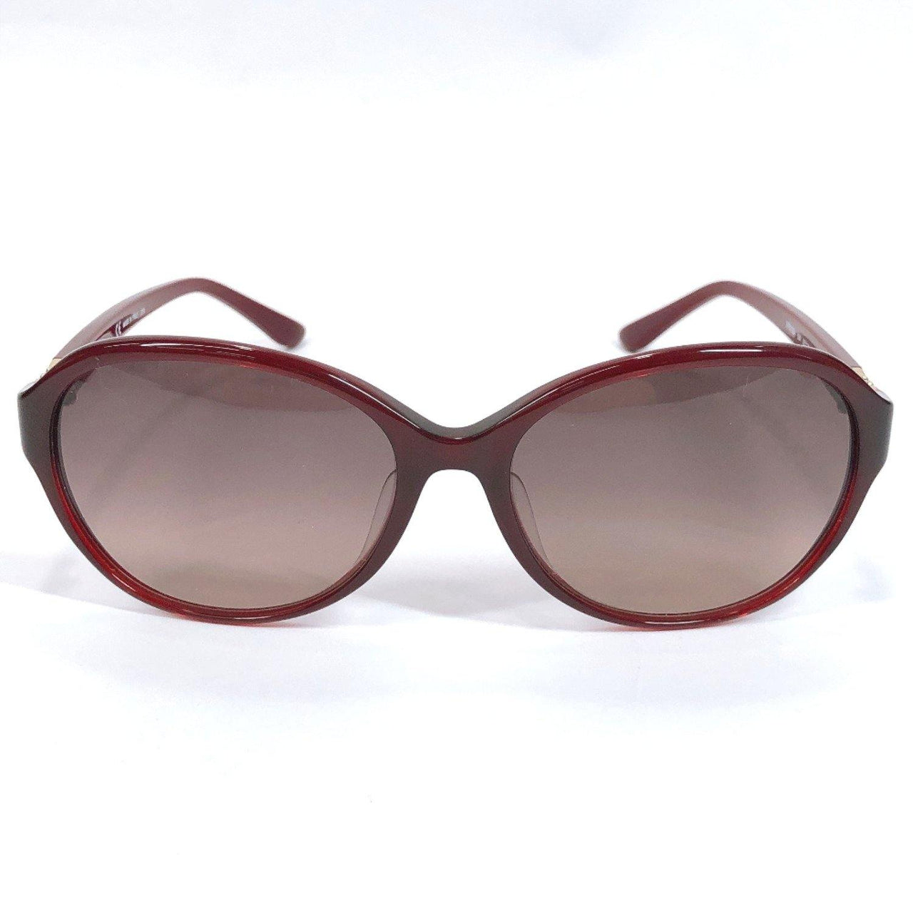 Salvatore Ferragamo sunglasses SF804SA 604 Gancini Asian fit UV cut Synthetic resin Bordeaux Burgundy Women Used - JP-BRANDS.com
