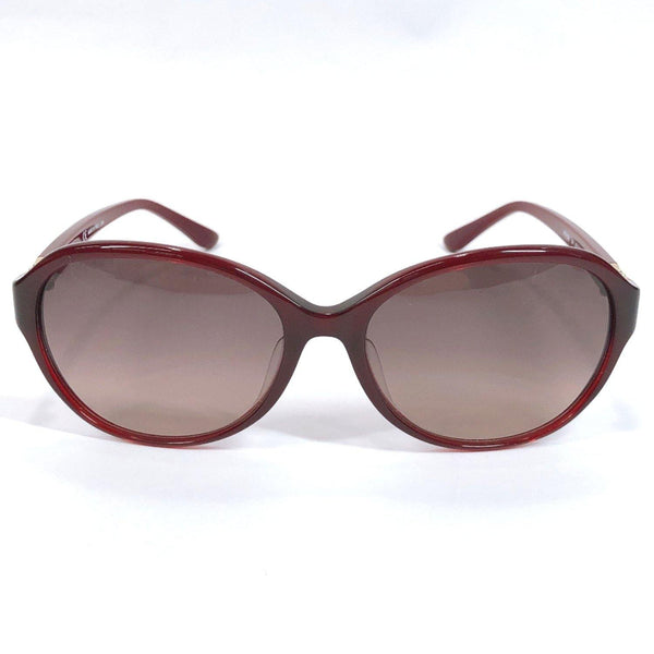 Salvatore Ferragamo sunglasses SF804SA 604 Gancini Asian fit UV cut Synthetic resin Bordeaux Burgundy Women Used