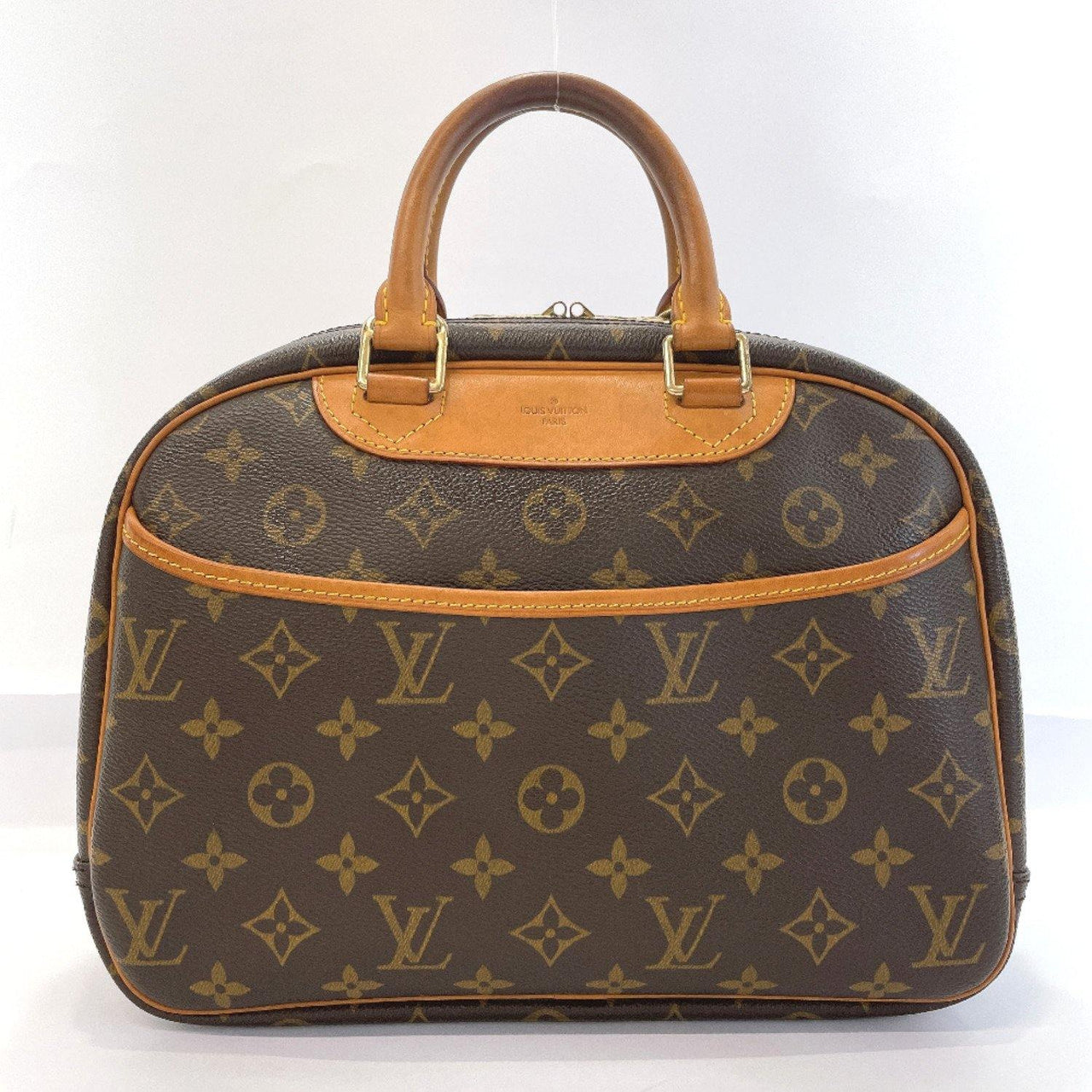 LOUIS VUITTON Handbag M42228 Trueville Monogram canvas Brown Women Used - JP-BRANDS.com