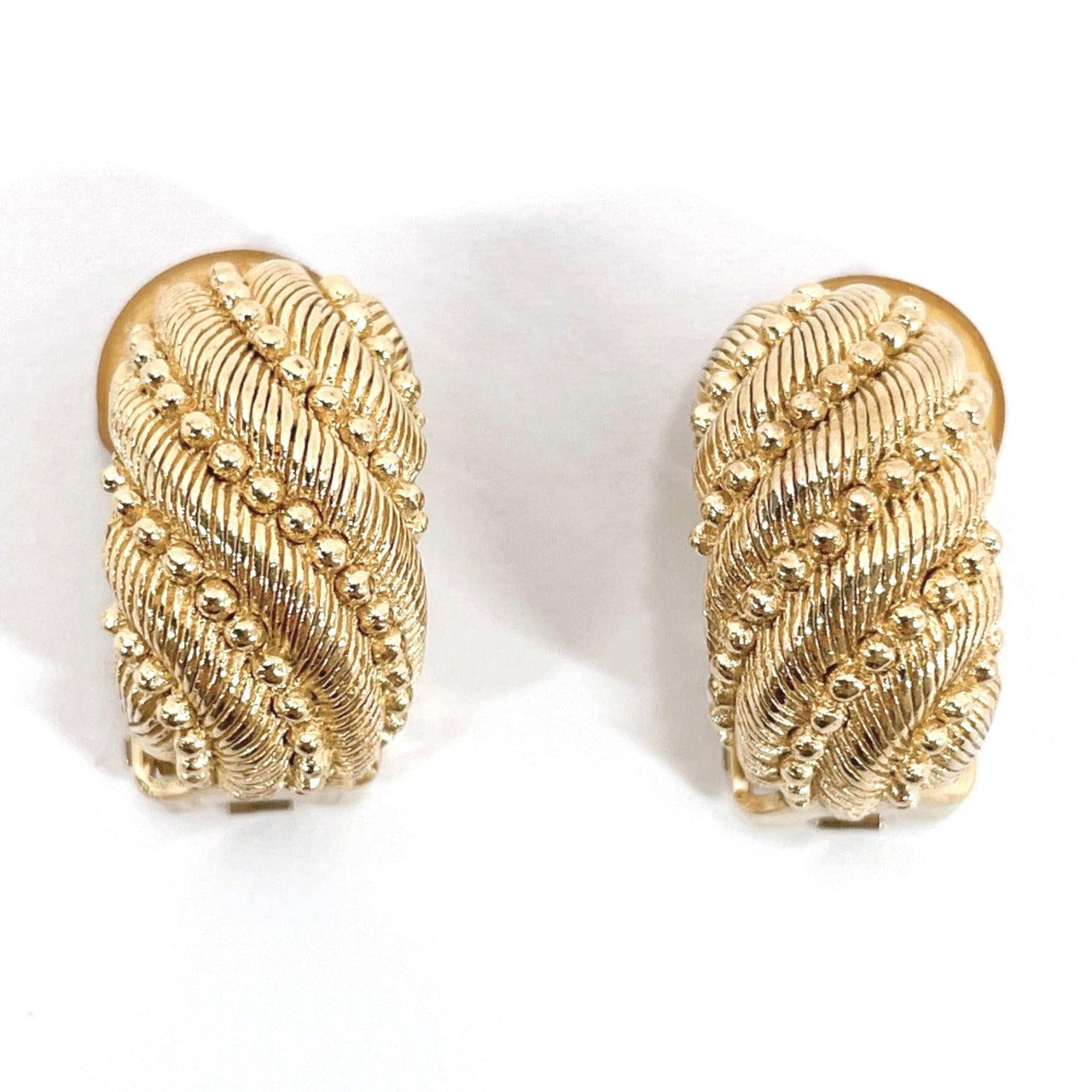 Christian Dior Earring metal gold Women Used