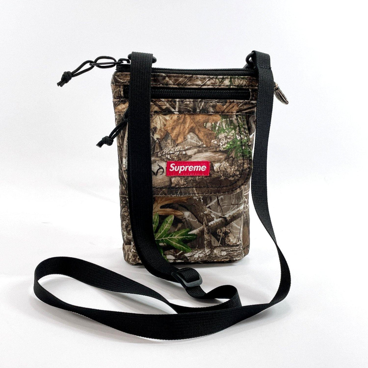 Supreme Shoulder Bag Sakosh pouch Camouflage cordura Nylon green mens Used - JP-BRANDS.com