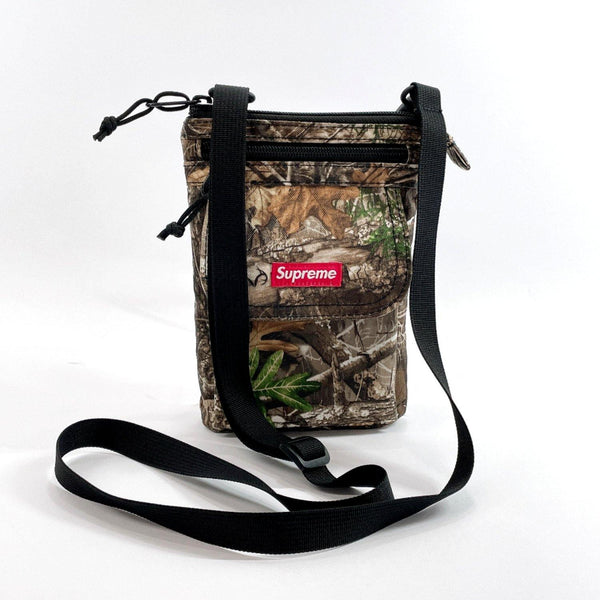 Supreme Shoulder Bag Sakosh pouch Camouflage cordura Nylon green mens Used