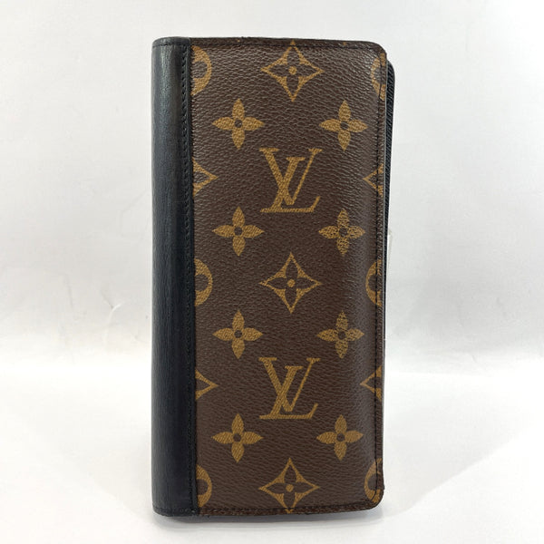 LOUIS VUITTON purse M93800 Portefeiulle Tanon Monogram macacer Brown mens Used