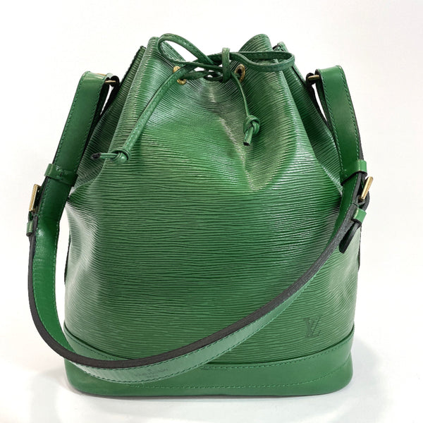 LOUIS VUITTON Shoulder Bag M44004 Noe Epi Leather green Women Used