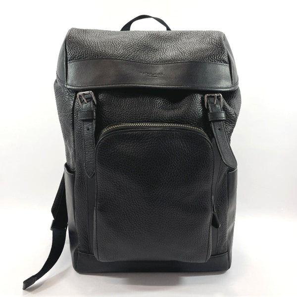COACH Backpack Daypack F72311 Henry leather black mens Used