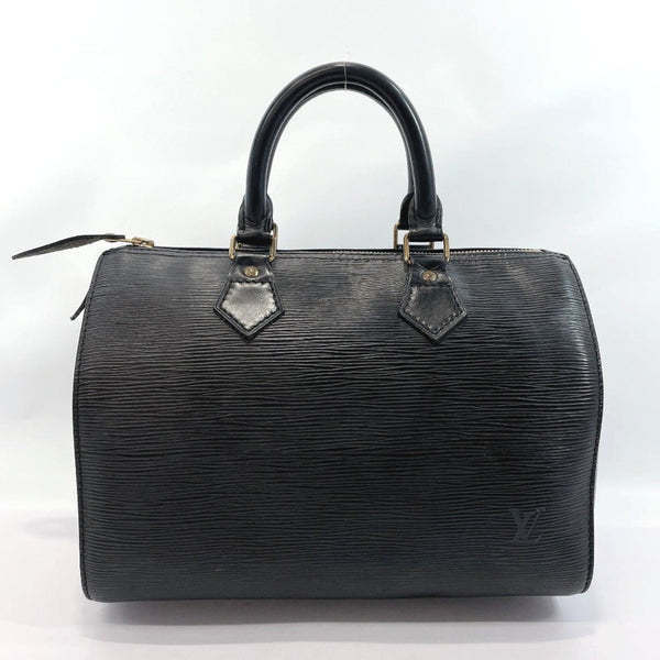 LOUIS VUITTON Handbag M59022 Speedy 30 vintage Epi Leather black Women Used