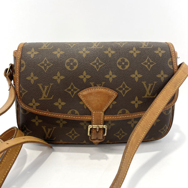 LOUIS VUITTON Shoulder Bag M42250 Sologne Monogram canvas Brown Women Used