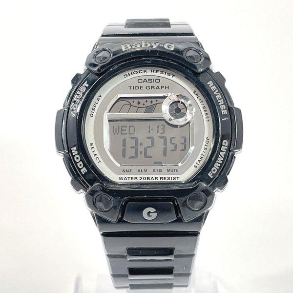 CASIO Watches BLX-103 Baby-G Synthetic resin black Women Used