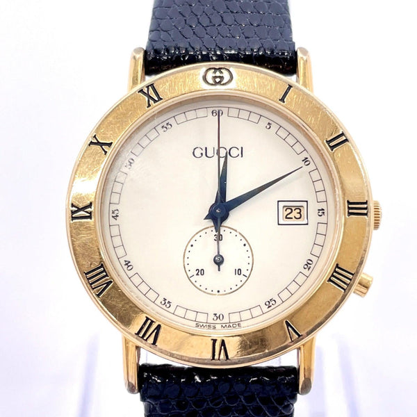GUCCI Watches 3800Jr quartz vintage Stainless Steel gold Women Used