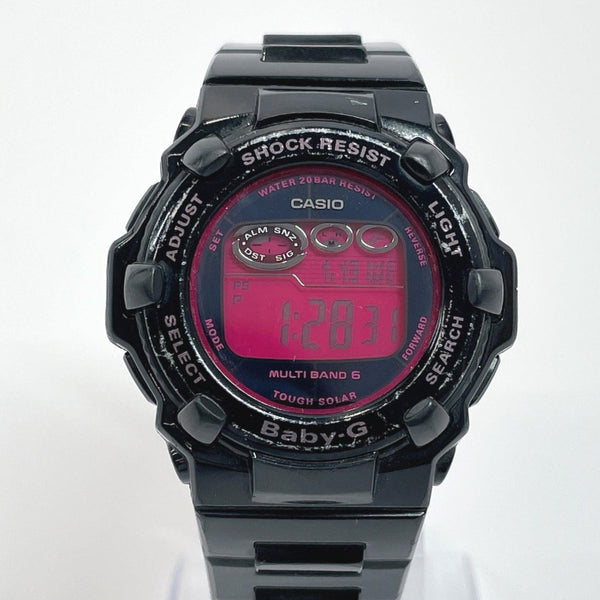CASIO Watches BGR-3003 Baby-G Synthetic resin black pink Women Used