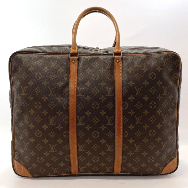 LOUIS VUITTON Boston bag M41406 Sirius 50 vintage Monogram canvas Brown mens Used