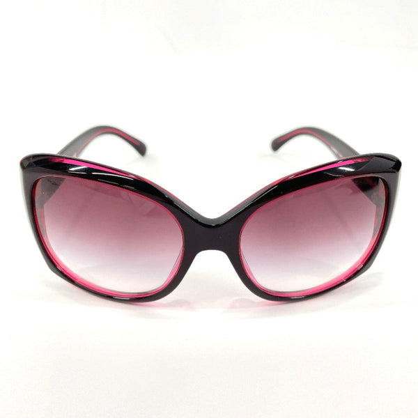 CHANEL sunglasses 5183-12173 COCO Mark Synthetic resin Red Women Used