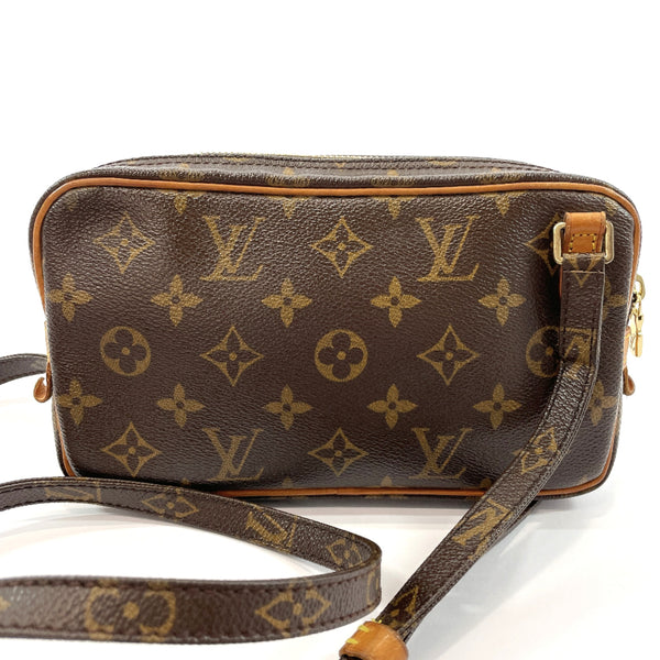 LOUIS VUITTON Shoulder Bag M51828 Marly Bandriere Monogram canvas Brown Women Used
