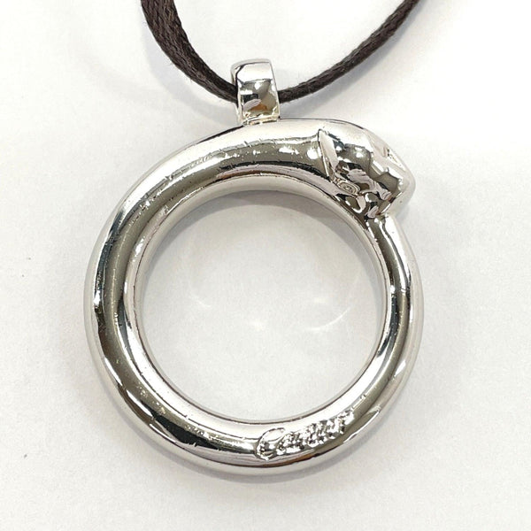 CARTIER Pendant top PANTHERE metal Silver unisex Used