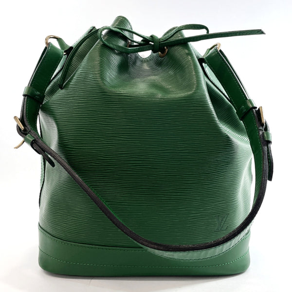 LOUIS VUITTON Shoulder Bag M44104 Noe Epi Leather green Women Used