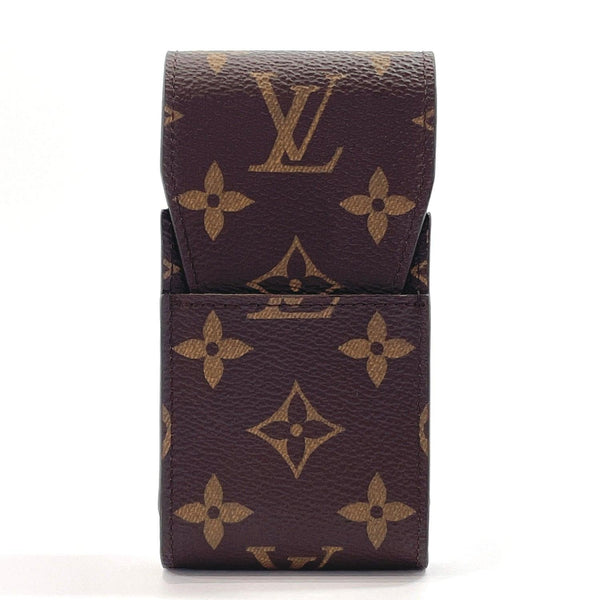 LOUIS VUITTON Other accessories M63024 Cigarette case Etui cigarette Monogram canvas Brown unisex Used