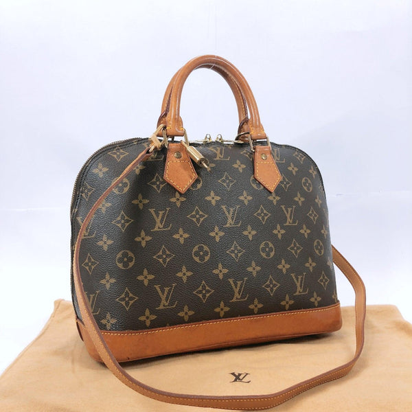 LOUIS VUITTON Louis Vuitton Alma PM M51130 Handbag Monogram Canvas Brown Ladies Used