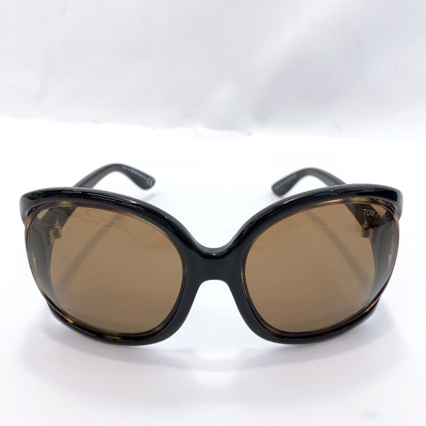 TOM FORD sunglasses TF100 Jacqueline Platstick Brown black Women Used