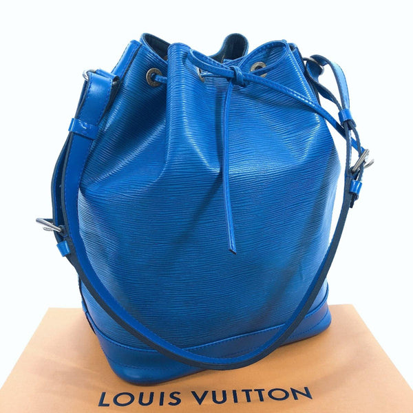 LOUIS VUITTON Shoulder Bag M44005 Vintage Noe Epi Leather blue Women Used
