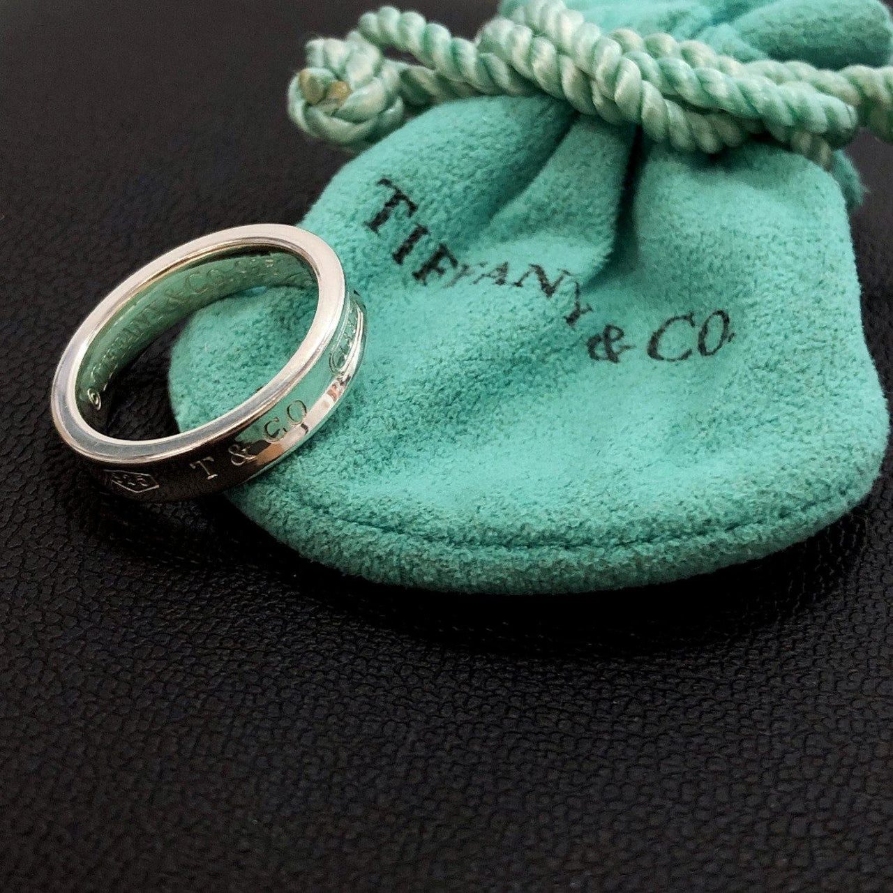 TIFFANY&Co. Ring 1837 Silver925 7.5 Silver Women Used - JP-BRANDS.com
