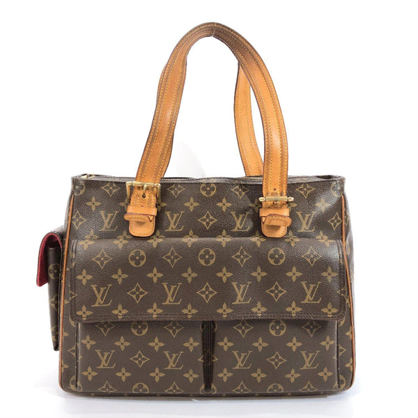 LOUIS VUITTON Tote Bag M51162 Multiply Cite Monogram canvas Brown Women Used