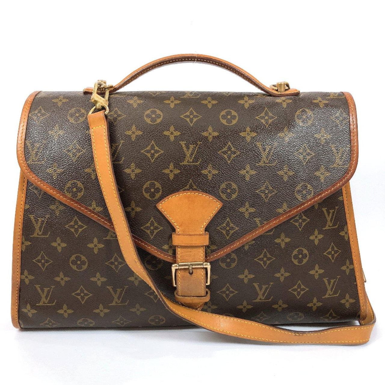 LOUIS VUITTON Shoulder Bag M51121 Beverly Monogram canvas Brown unisex Used