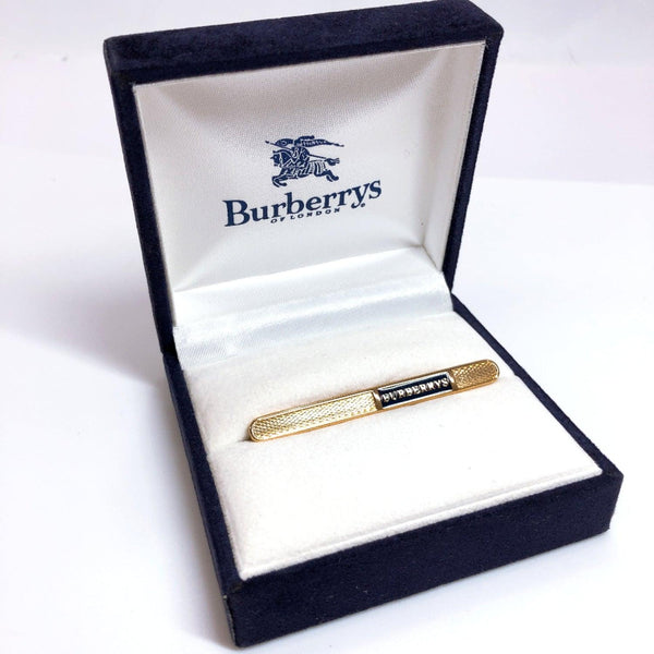 Burberrys Tie pin metal gold mens Used