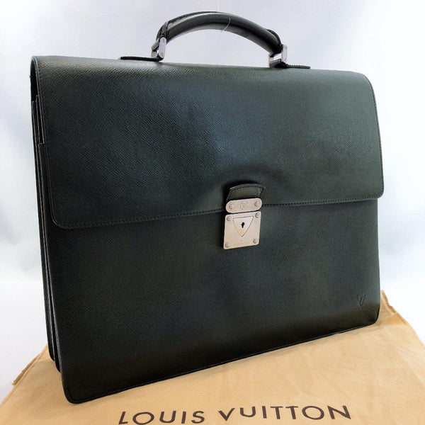 LOUIS VUITTON Business bag M3104P Robusto 2 Taiga green mens Used