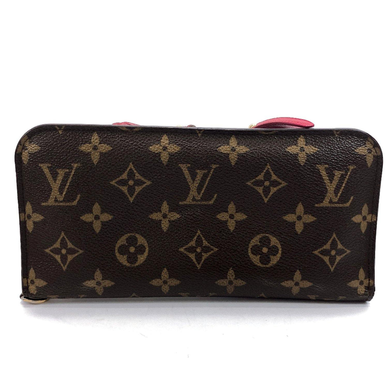LOUIS VUITTON purse M60249 Portefeiulle unsolit Monogram canvas Brown pink Women Used