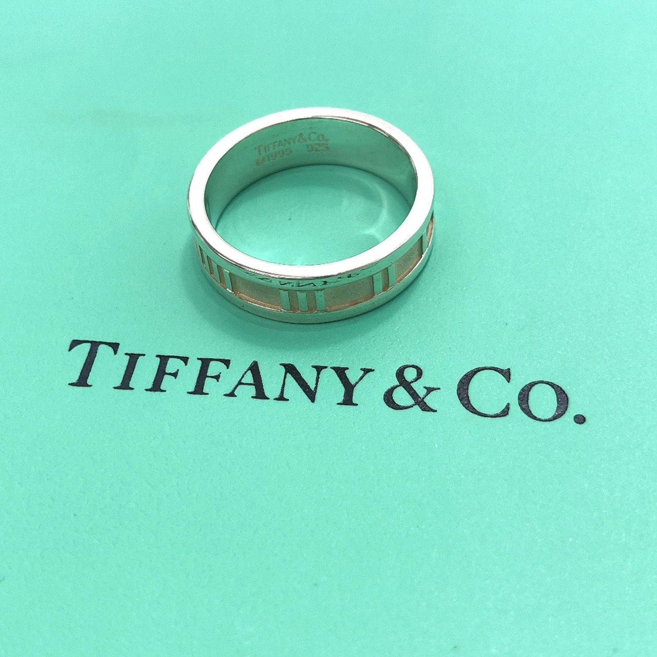 TIFFANY&Co. Ring Atlas Silver925 20 Silver mens Used - JP-BRANDS.com