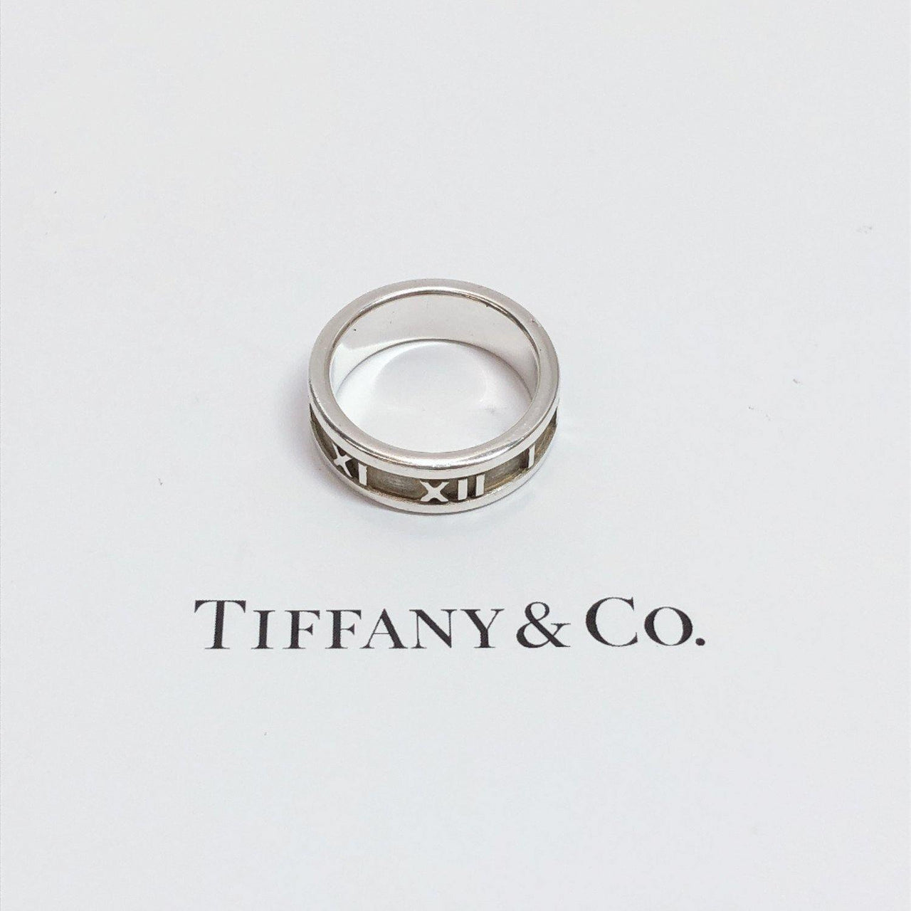 TIFFANY&Co. Ring Atlas Silver925 12 Silver Women Used - JP-BRANDS.com