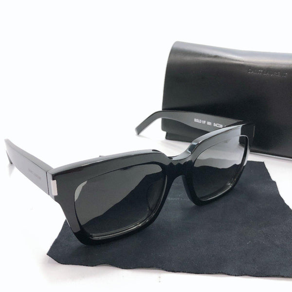 SAINT LAURENT PARIS sunglasses Bold 1 Synthetic resin black unisex Used