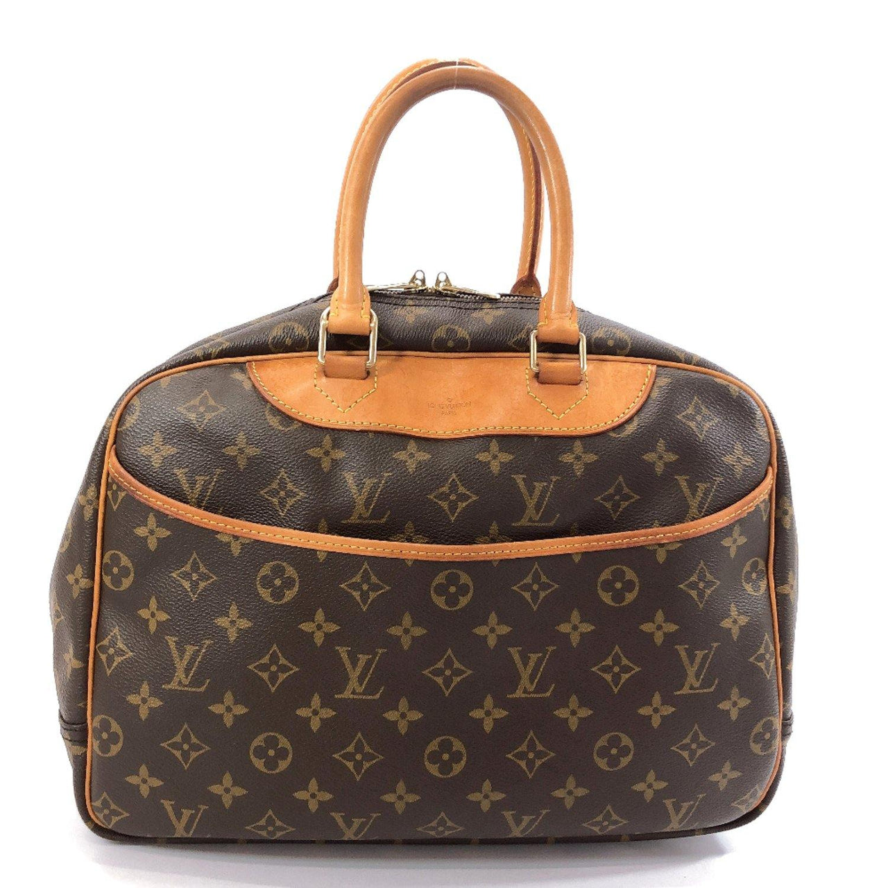 LOUIS VUITTON Handbag M47270 Deauville Monogram canvas Brown Women Used - JP-BRANDS.com