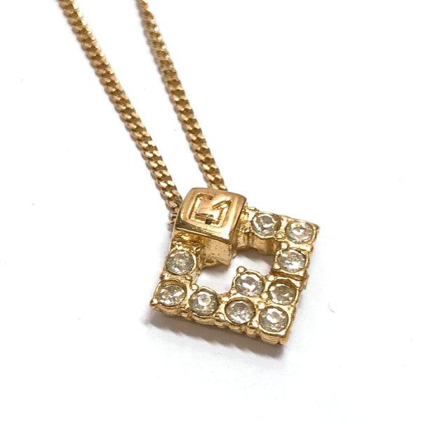 Givenchy Necklace metal/Rhinestone gold Women Used