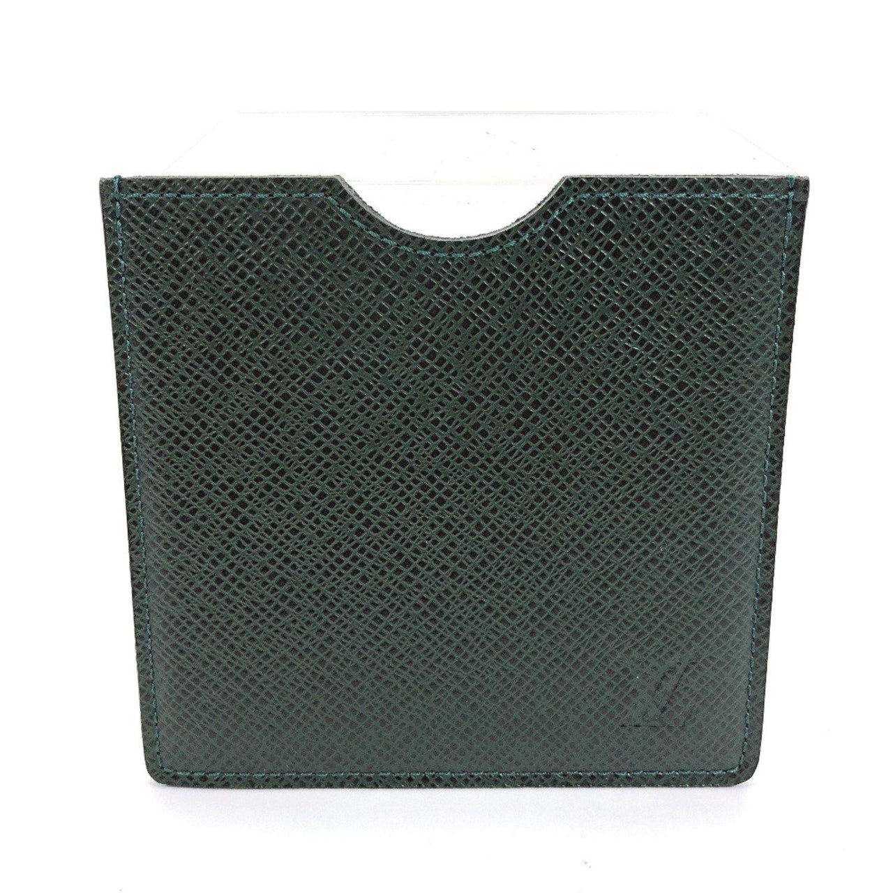 LOUIS VUITTON Other accessories M30344 Floppy disk case Taiga green unisex Used - JP-BRANDS.com